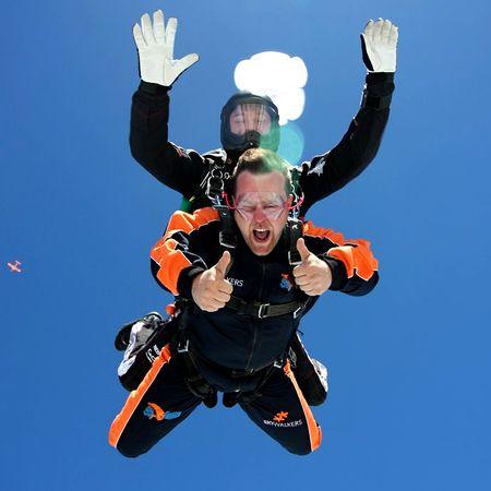 Skydiving - Tandem jumps Prague   Magical Prague