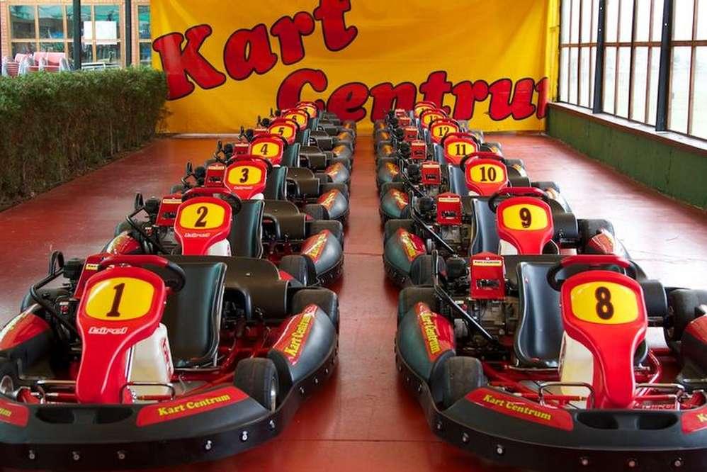 red speed kart